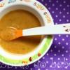 Creme de cenoura e beringela