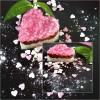 Coração de gengibre, chocolate e morango