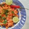 Salada de papaia (Thai style)