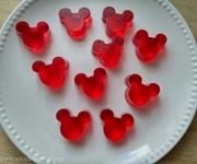 Gomas caseiras de gelatina