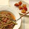 Sopa de feijão com cardos (Alentejo)
