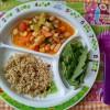 Guisado de legumes com quinoa