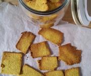 Crackers paleo de coco