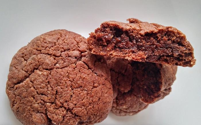 Bolachas de chocolate integrais