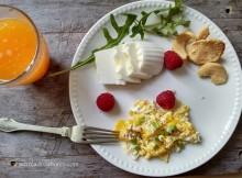 pequeno-almoço rápido e saudável