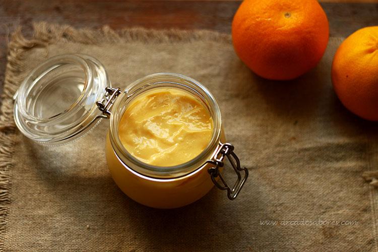 Curd (molho) de tangerina