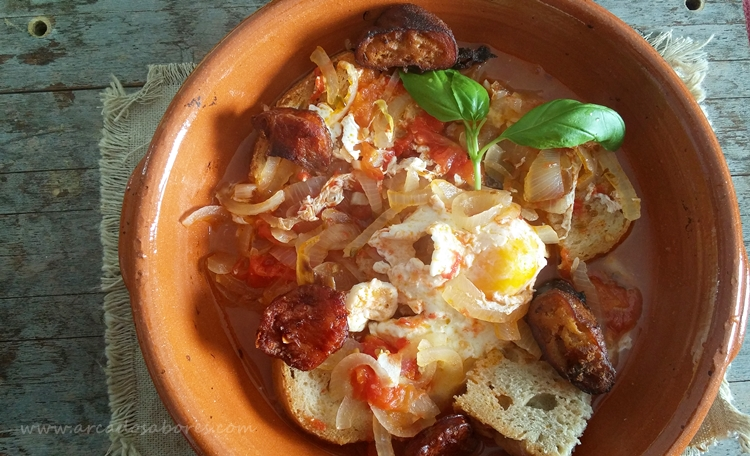 Sopa de tomate (Alentejo)