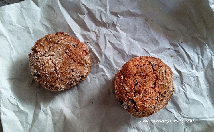 Bolachas de chocolate e coco (paleo, sem glúten, opcção vegan)