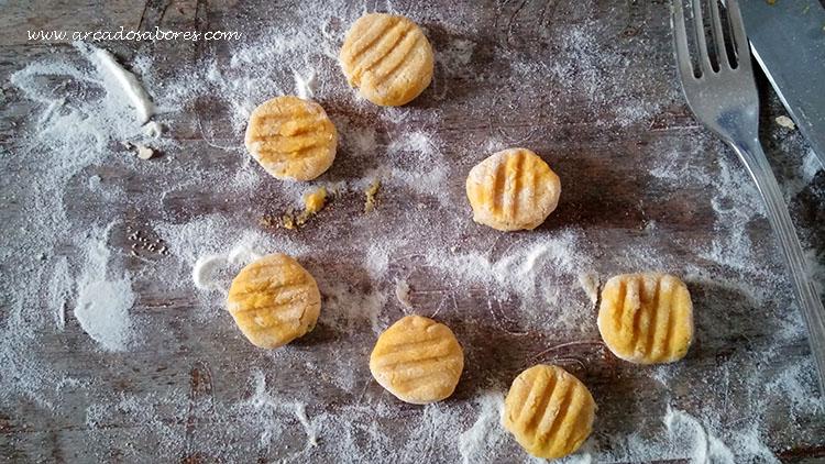 Gnocchi de abóbora (sem glutén/paleo)