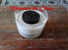 mousse de oreo light